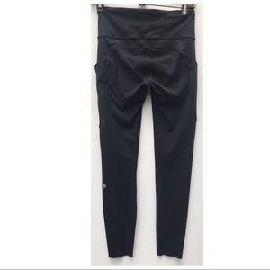 LULULEMON Fast & Free tight Pants 6 black